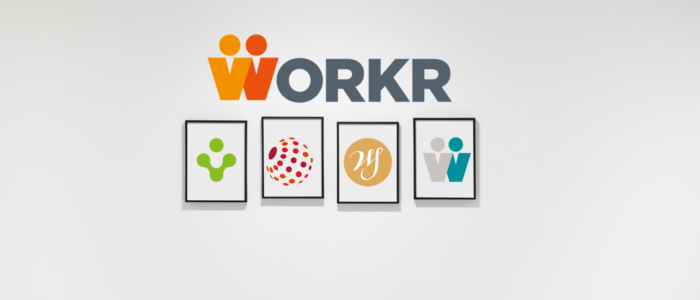 Workr logo, income made smart logo, Walker smith logo, freelance workr logo, link global logo